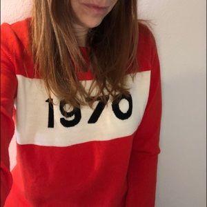 Sweaters - 1970 sweater in orange